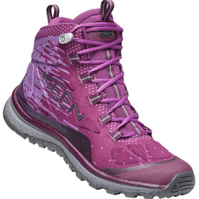 Keen Terradora Evo Mid-Cut Schuhe Damen grape wine/grape kiss